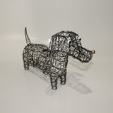 Dog in Natural Iron