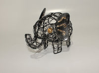 Elephant in Natural Iron