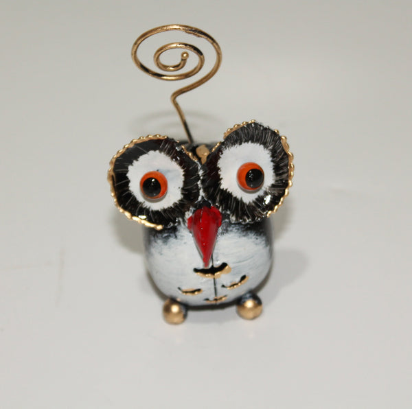 Owl as Card Holder