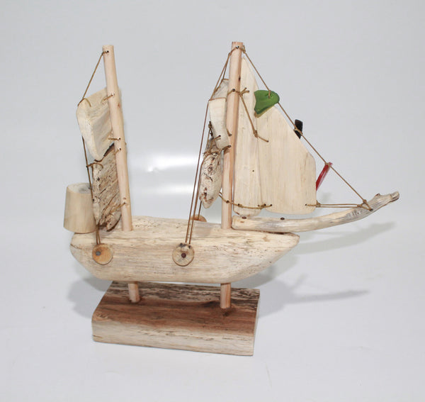 Boat in Wood