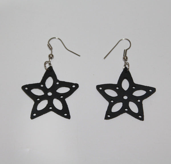 Small Earrings Of Rubber