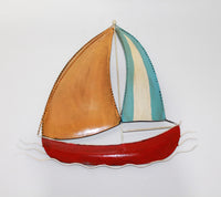 Boat for wall hanging In 4 Colors