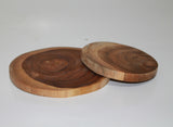 Coaster from Teak Wood