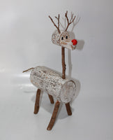 Reindeer in White Wash