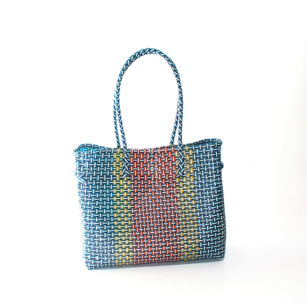 Bags From Recycling Plastic (Mix & M carrier strap)