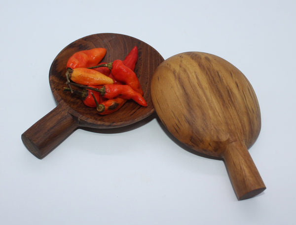 Small Serving Plate (Teak)