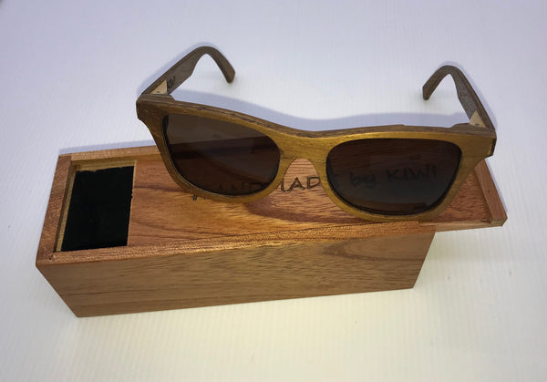 Unisex Sunglasses Made From Wood (Brown Lens)