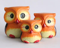 Owl set of 3 Large