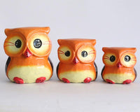 Owl set of 3 Small