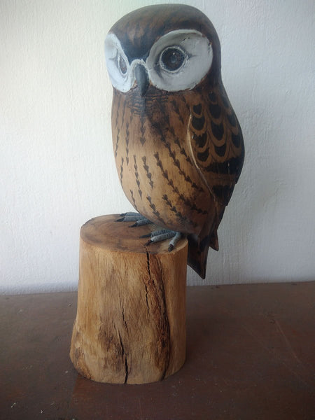 Snow Owl Antique