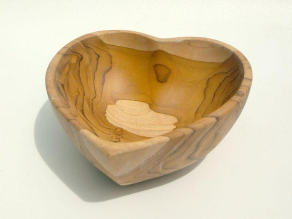 Heart shape bowl (Teak)