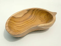 Mango shape bowl (Teak)