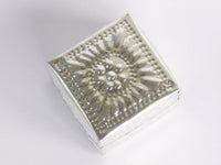 Ornament Hammered Box