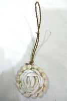 Hanging sea shell decoration
