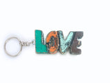 Wooden Key Ring (Love / Kiss)
