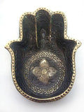 Brass plate Hand of Fatimah