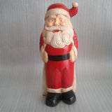 Father Christmas Holding belt