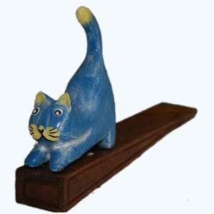 Kneel Cat Door Stops