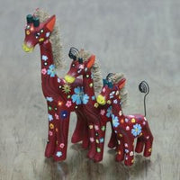 Giraffe Set of 3 as Card Holder