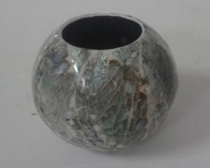 Abalone Candle Holder