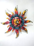 Sun spiral wall decoration