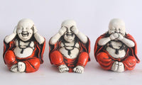Happy Buddha Set of 3
