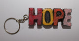 Wooden Key Ring (Peace / Faith / Hope)