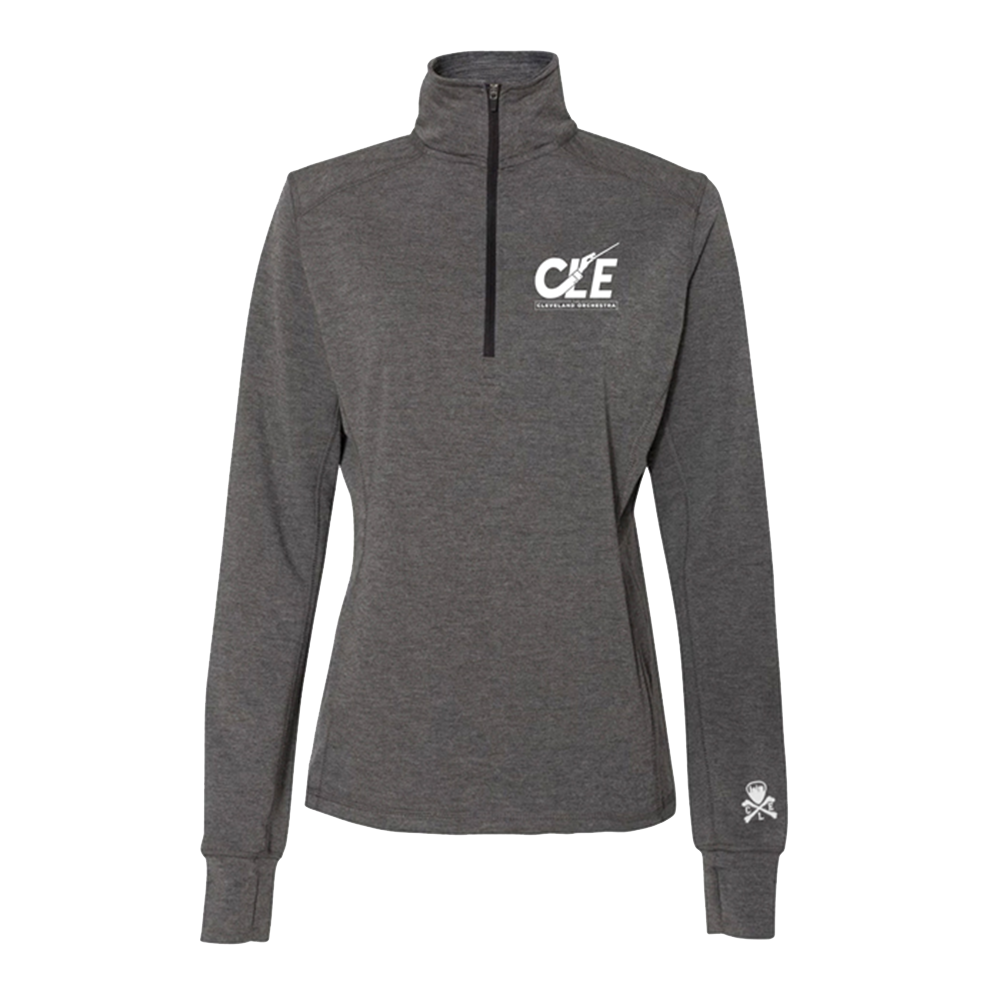 Women's CLE 1/4 Zip Shirt
