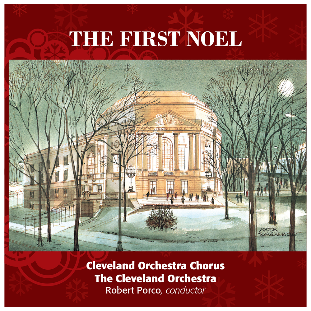 The First Noel CD - Gift with Chorus Fund Donation