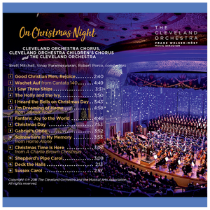 On Christmas Night CD - Gift with Chorus Fund Donation