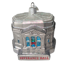 Load image into Gallery viewer, Severance Hall Blown Glass Ornament