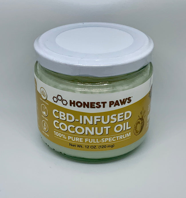 Honest Paws CBD Coconut Oil - Beyond Full Spectrum