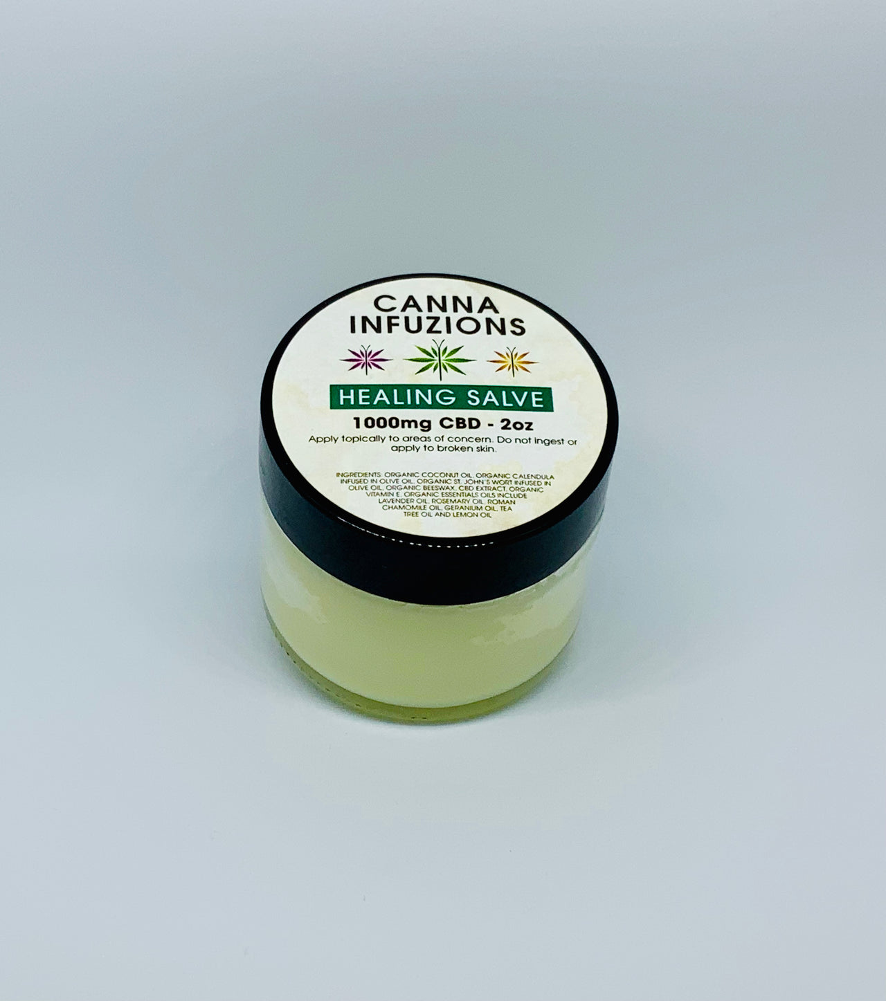 Canna Infuzions Healing Salve - Beyond Full Spectrum