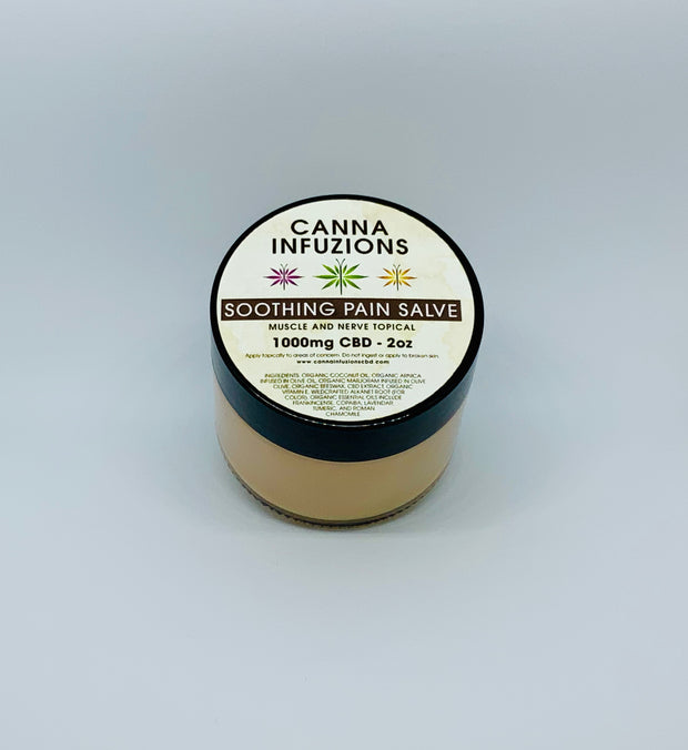 Canna Infuzions Soothing Pain Salve - Beyond Full Spectrum