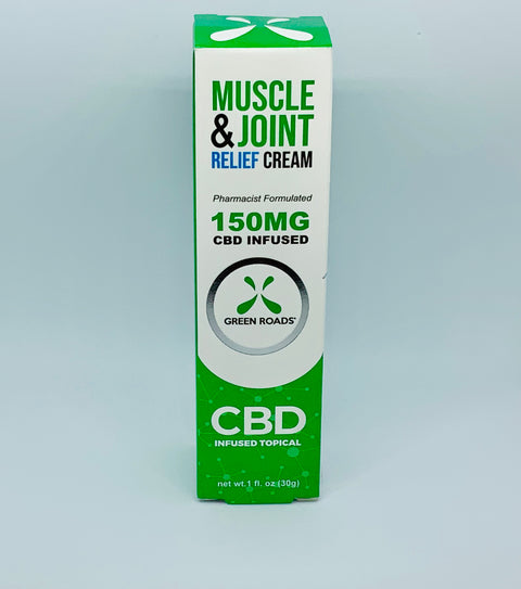 Green Roads Muscle and Joint Cream - Beyond Full Spectrum