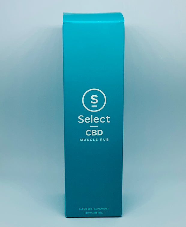 Select CBD Muscle Rub - Beyond Full Spectrum