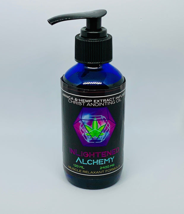 Inlightened Alchemy Massage Oil - Beyond Full Spectrum