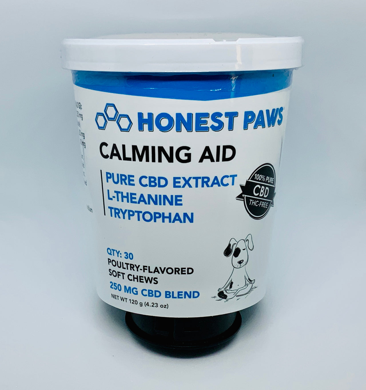 Honest Paws Calming Aid Soft Chews - Beyond Full Spectrum