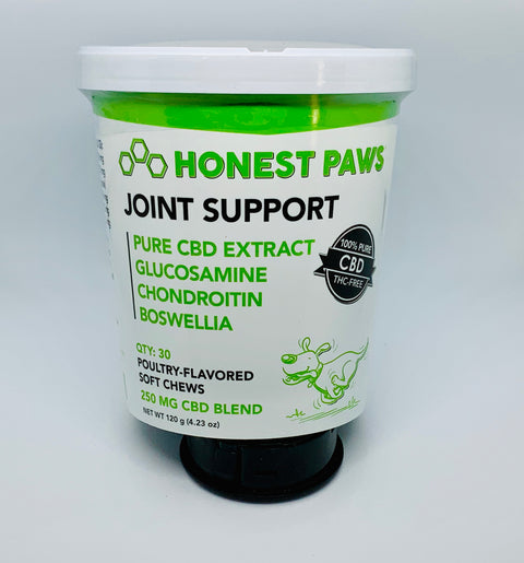 Honest Paws Joint Support Soft Chews - Beyond Full Spectrum