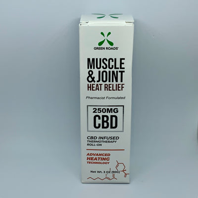 Green Roads Muscle & Joint Heat Relief - Beyond Full Spectrum
