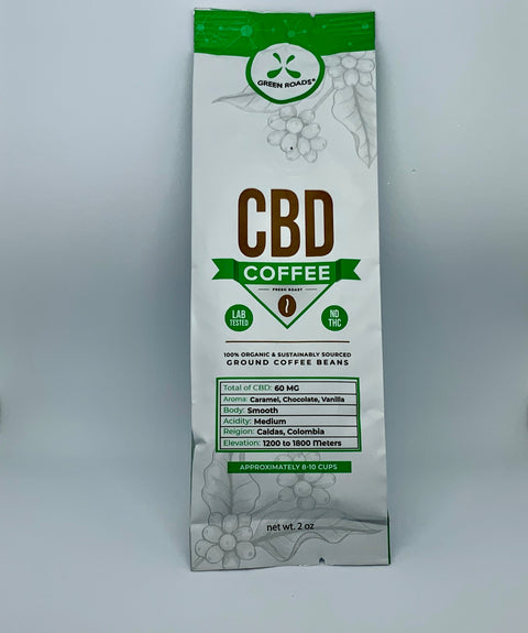 Green Roads CBD Coffee - Beyond Full Spectrum