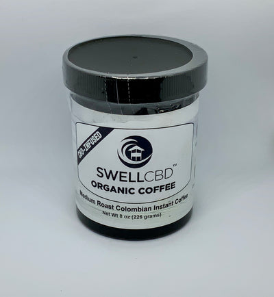 Swell CBD Organic Coffee Instant - Beyond Full Spectrum