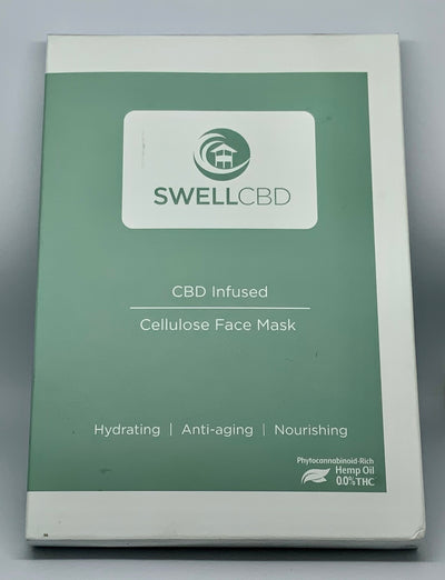 Swell CBD Cellulose Face Mask - Beyond Full Spectrum