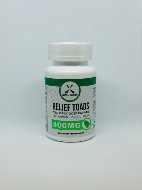 Green Roads Relief Toads 400mg - Beyond Full Spectrum
