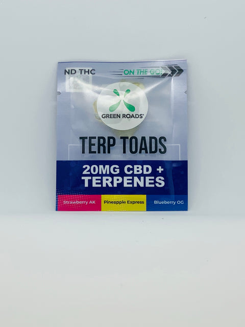 On-the-Go Terp Toads 20mg - Beyond Full Spectrum