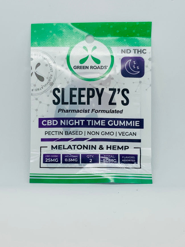Green Roads Sleepy Zs Bedtime CBD Gummies - Beyond Full Spectrum
