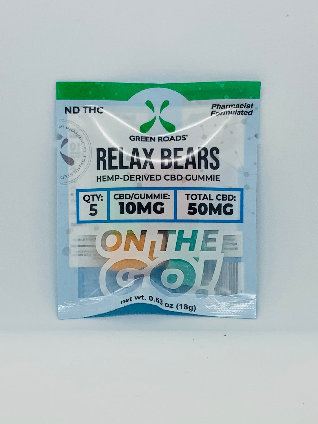 On-the-Go Edibles Relax Bears 50mg - Beyond Full Spectrum