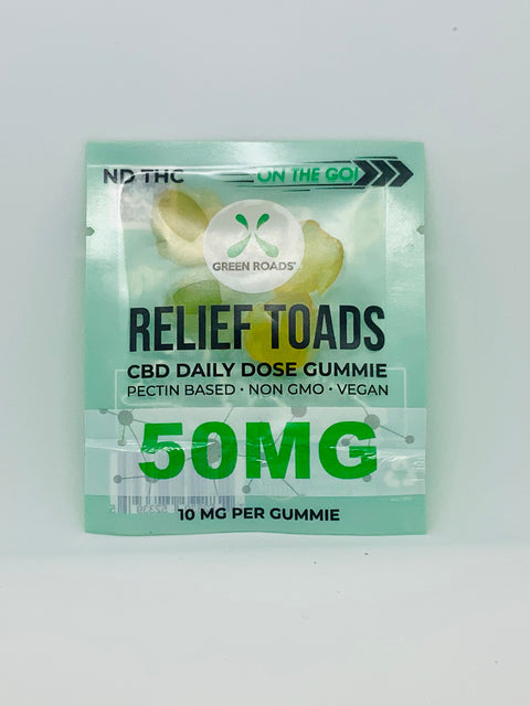 On-the-Go Relief Toads 50mg - Beyond Full Spectrum