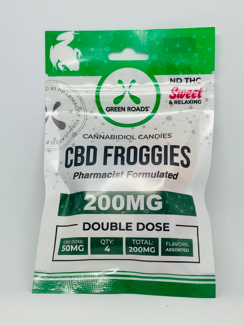 Green Roads Froggies Sweet 200mg - Beyond Full Spectrum