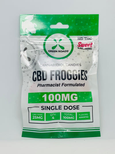 Green Roads Froggies Sweet 100mg - Beyond Full Spectrum